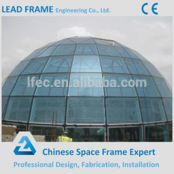 Steel roof construction structures glass dome