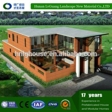 China Supplier WPC Luxury Modern Design Light Gauge Steel Framing Prefab beach house Best Price