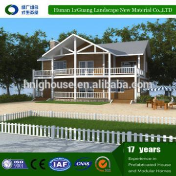 Economical and Luxury Light Steel Structure cheap prefab Villa for Entertainment