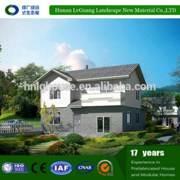 Reliable wind-resistance heatproof and waterproof durable prefab house for russian far east
