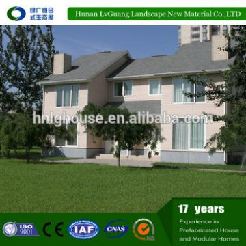 Well-designed Decorated 2-storey Prefabricated villa steel House