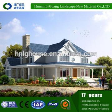 prefab steel structure villa/ cheap house/easy house