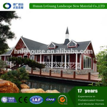 Economical Good Insulated finished steel prefab house light steel villa