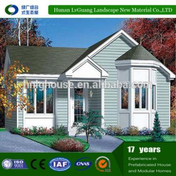 Demountable easy install and low cost prefabricated garage house