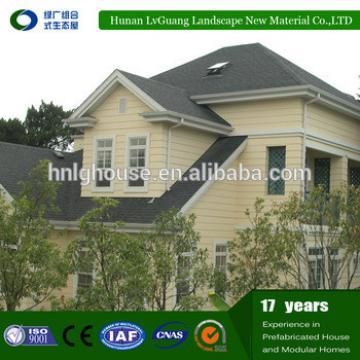 Outdoor hengxin prefabricated single storey luxury prefab house