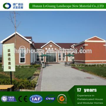 Prefab homes light steel frame structure,light steel with best price prefab villa