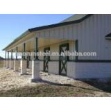 Easy to add lighting Steel Workshop Buildings