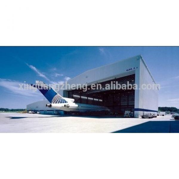 steel structure prefabricated aircraft garage hangar stock #1 image