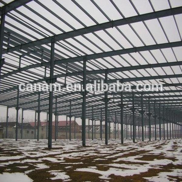 Prefabricated steel structure building,steel structure warehouse #1 image