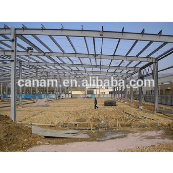 Steel structure buildings for workshop,warehouse with SGS,CE certificate #1 image