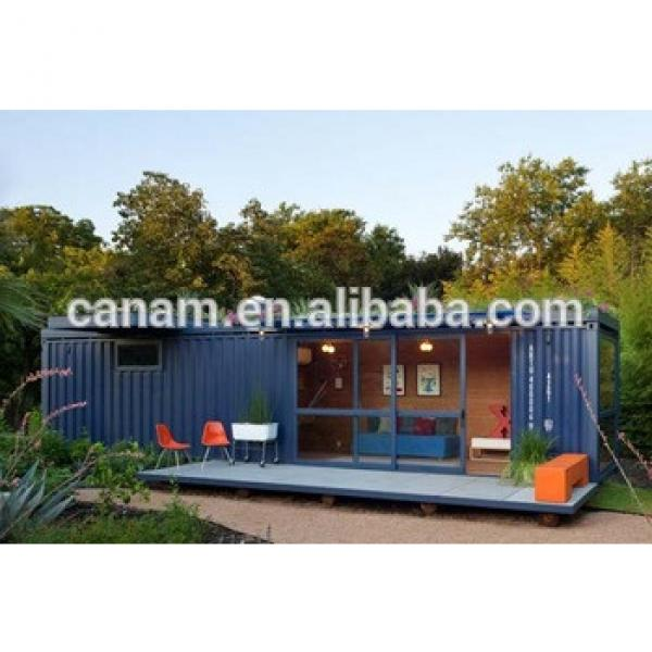 prefabricated 40ft shipping container house folding steel structure container house #1 image