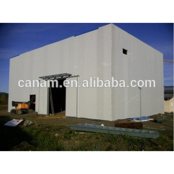 Prefab Steel structure building steel structure warehouse #1 image