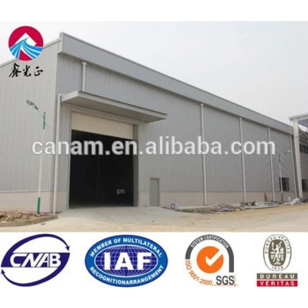 qingdao peb shed design prefabricated light steel structure warehouse drawings #1 image