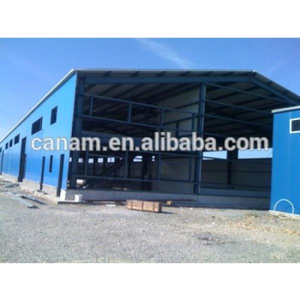 china prefabricated construction design steel structure factory shed #1 image