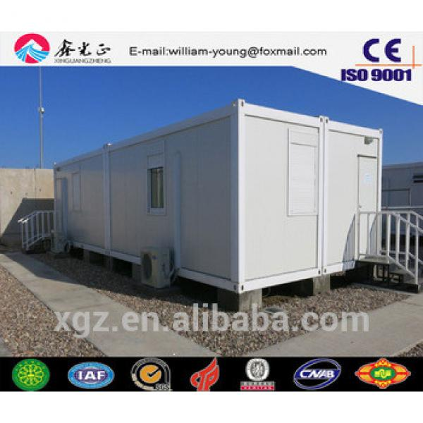China supplier on Steel structure prefabricated tiny house , flat pack container house #1 image