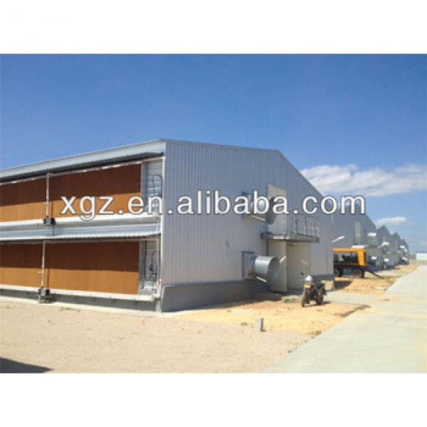 full automatic prefab chicken egg poultry farm #1 image