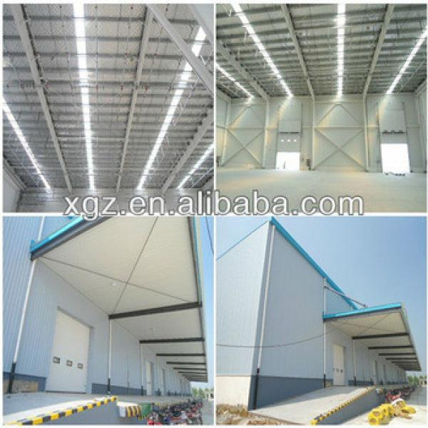 Qingdao structural steel prefabricated warehouse building #1 image