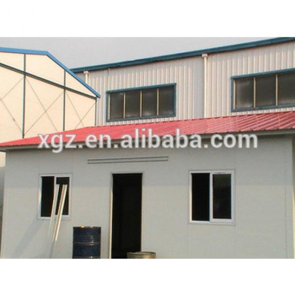 Flat roof steel structure prefabricated metal houses #1 image