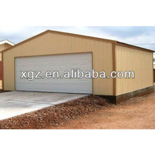 Prefabricated Steel Garage House #1 image