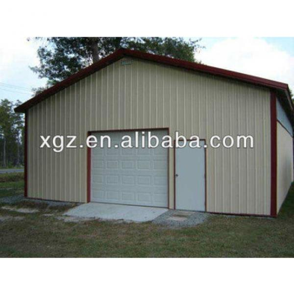 Prefabricated Movable Steel Structure Warehouse Shed #1 image