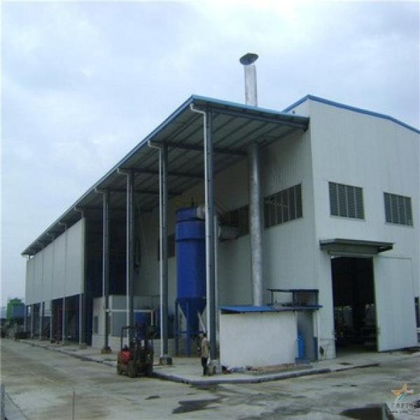 Cheap Prefabricated Steel Structure Water Plant For Drinking #1 image