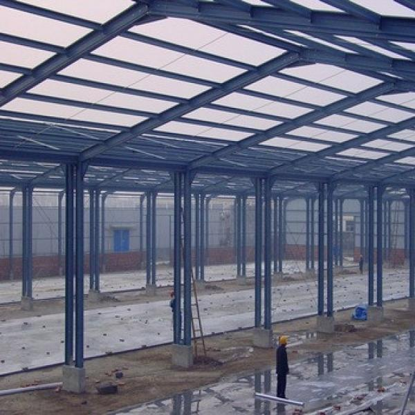 Professional Design Turnkey Project Pre Engineering Steel Structure Building #1 image