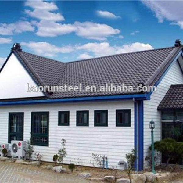 insulated sandwich wall roof panel steel structure building material prefab house #1 image