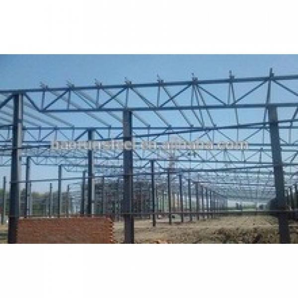 Top Quality For 2015 Portal Steel Structure Warehouse #1 image