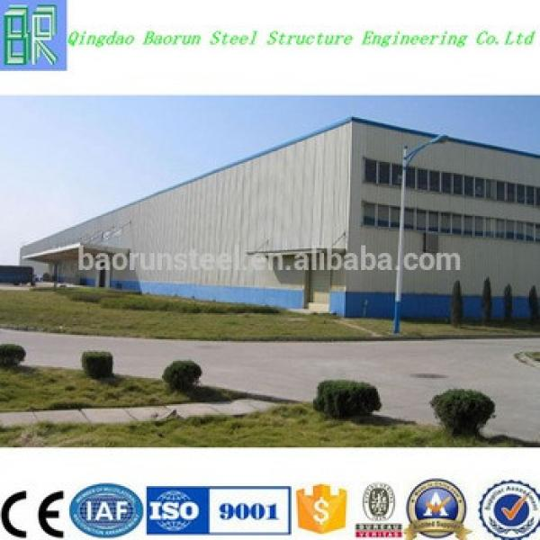 Low cost prefabricated steel structure industrial building shed warehouse #1 image