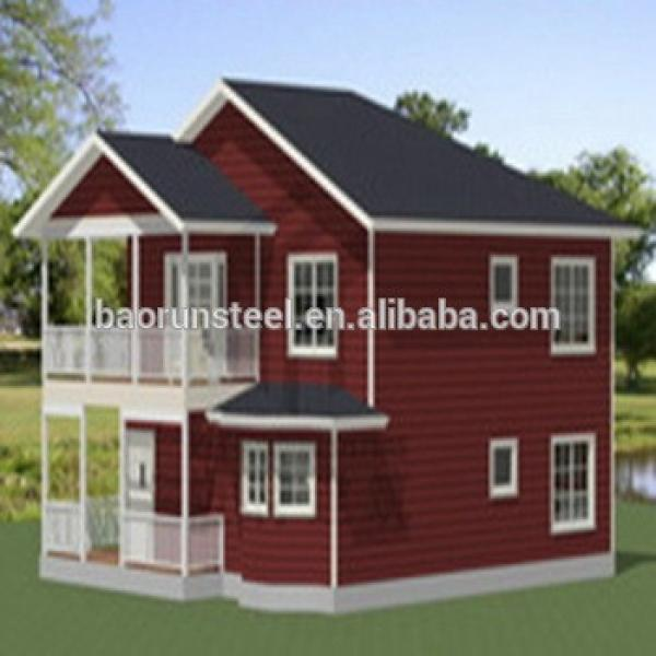 Low cost prefabricated house for sale,Light Steel Villa #1 image
