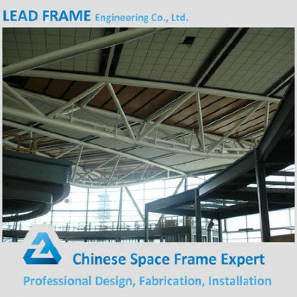 easy installation steel structure space frame for train station #1 image