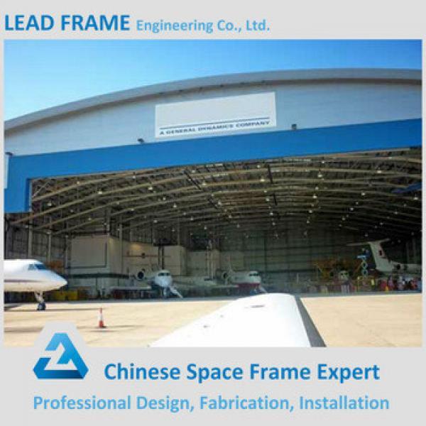 Steel Space Frame Construction Aircraft Hangar Design #1 image