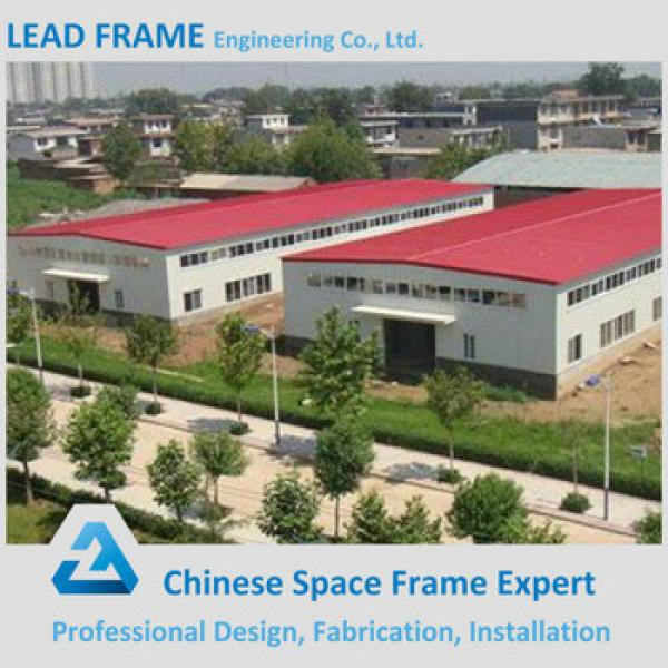 New design prefabricated steel frame for factory building #1 image
