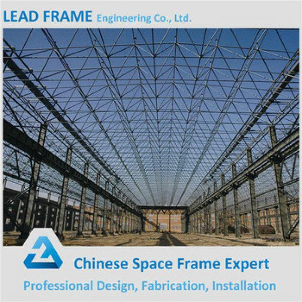 Long span arched steel structure for factory building #1 image