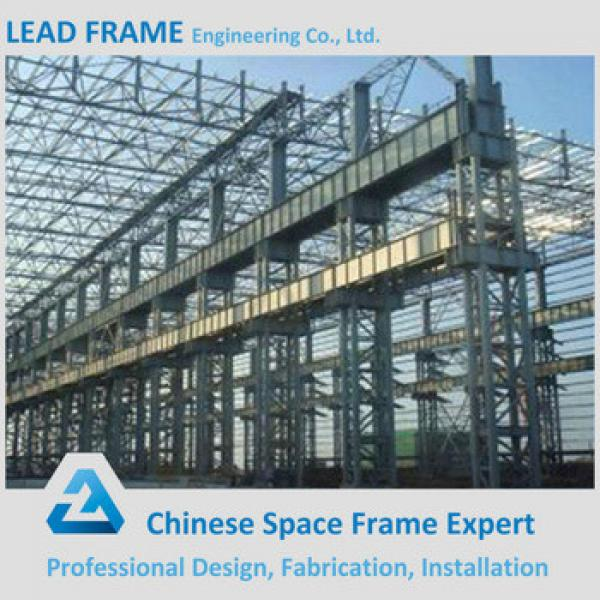 Galvanized Light Steel Roof Truss Design for Factory #1 image