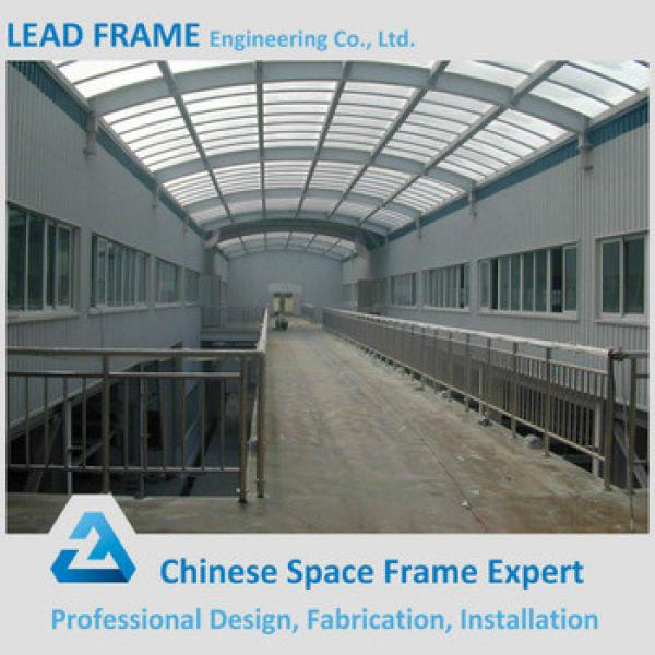 Curved Roof Steel Truss For Warehouse Steel Structure Building #1 image