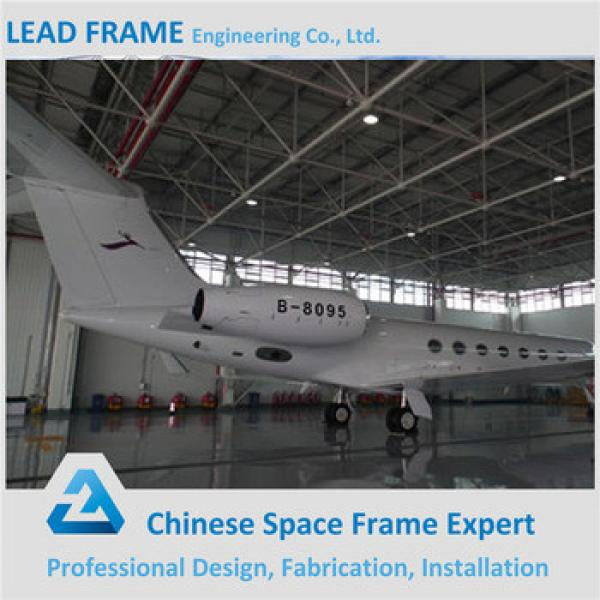 Structural Steel Frame Steel Constructed Aircraft Hangar #1 image