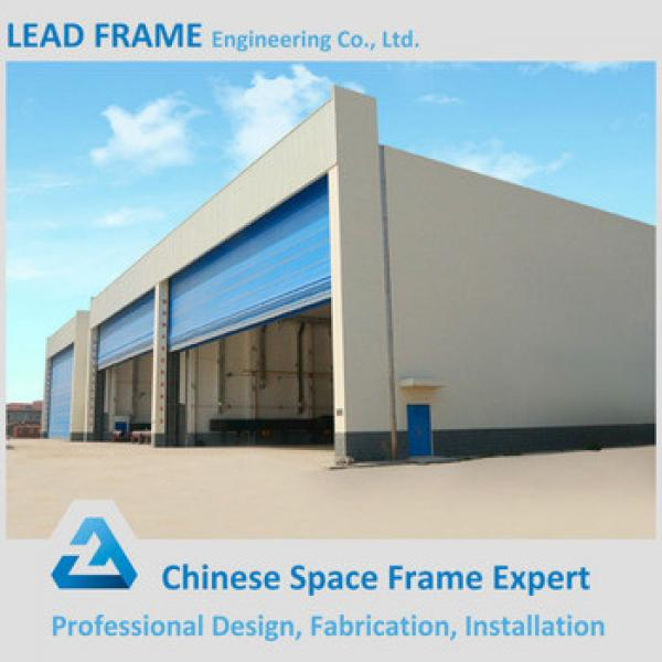 Cheap price A36 ATSM light steel structure frame prefabricated airplane hangar #1 image