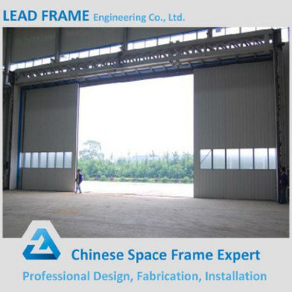 Wide Span Light Frame Steel Building Metal Hangar #1 image