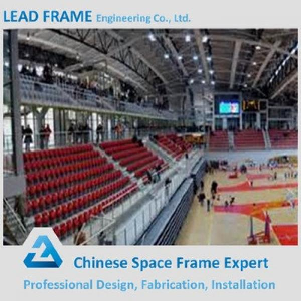 Economical Long Span Prefabricated Steel Structure Basketball Stadium #1 image