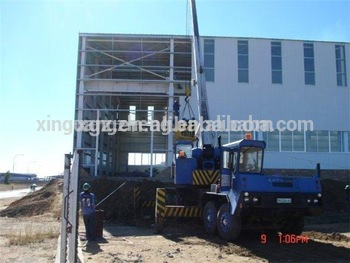 Industrial prefab steel structural workshop for Africa china