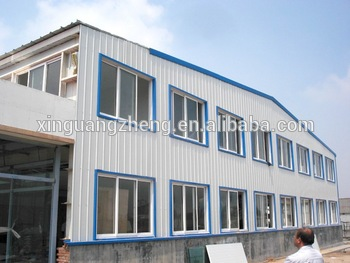 Steel structure prefabricated workshop/warehouse/building china