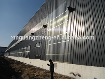 High quality and lowest price steel structure warehouse china