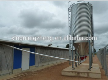 Alibaba trusted prefabricated automatic poultry farm chicken broiler house design china