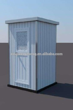 China easy installation Workshop Moveable toilet for construction site china