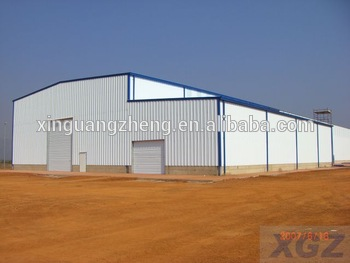 China large span light steel prefabricated structure warehouse china