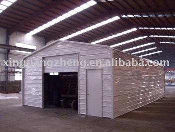 steel structure garage house china