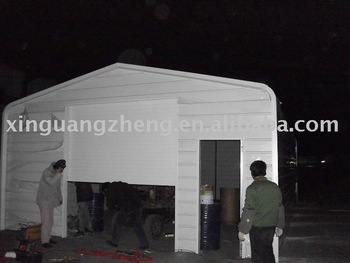 Prefabricated steel structure car shed china