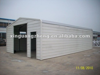 light steel prefabricated garage china